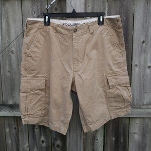 Khaki Cargo Shorts by Eddie Bauer